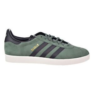 new style 7c0a3 d125f Image is loading Adidas-Gazelle-Mens-Casual-Shoes-Trace-Green-Core-