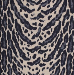 Navy Blue Ocelot Cheetah Animal Print