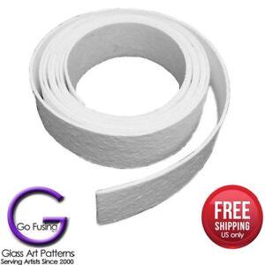 Fiber-Strips-4-Kiln-Shelf-Paper-1-8-034-or-1-16-034-D-x-24-034-L-x-2-034-W-Fusing-Supplies