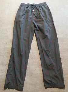10cc2b76a6 Details about Polo Ralph Lauren Mens Pony Print All Cotton Pajama Pants Sz  M #E7