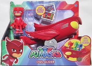 pj masks pyjamasques figurine figure vehicle vehicule amaya owlette owl glider ebay. Black Bedroom Furniture Sets. Home Design Ideas