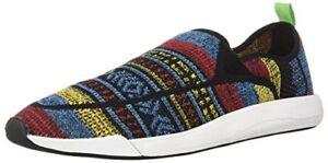 Sanuk-Unisexe-Chiba-Quest-Knit-sneakerus-Men-11-Femmes-Choix-Taille-couleur
