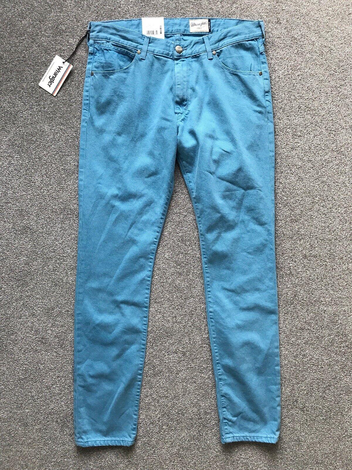 WRANGLER LARSTON Slim Fit Taperot Jeans Men Vintage Blau Denim W34 L34 NEW BNWT    Charakteristisch    eine große Vielfalt    Ausreichende Versorgung