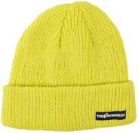 The Hundreds Crisp Beanie Hat Knitted Cuff Lime on sale