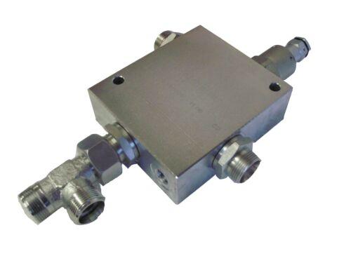 Differentialventil Eilgangventil Auto Speed Holzspalter mit 15 L Verschraubungen