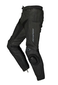 New-AGVsport-Willow-Leather-Motorcycle-Pants-Vented-amp-Solid-CE-Armour
