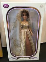 Disney Store Limited Edition 17 Tangled Ever After Rapunzel Wedding Doll