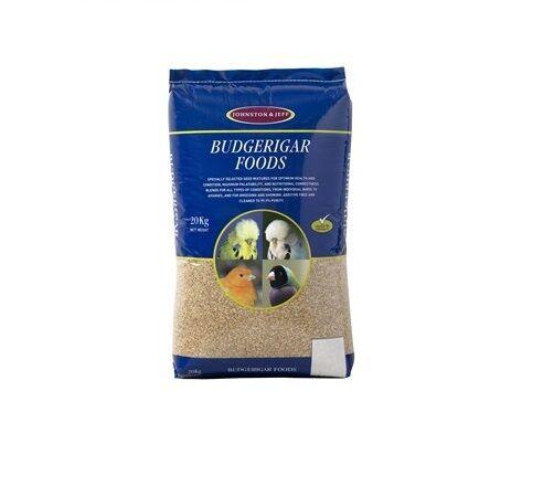 Johnston & Jeff Expert Budgieseed 20kg Budgie seed food feed