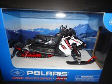 NewRay Polaris 800 Switchback Pro-X Snowmobile White 57783A 1/16