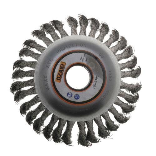 Brosse métallique 150 X 25.4mm pour débroussailleuse jusqu/'à 40cc