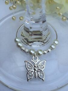 20-Butterfly-Wine-Glass-Charms-Favours-Wedding-Celebration