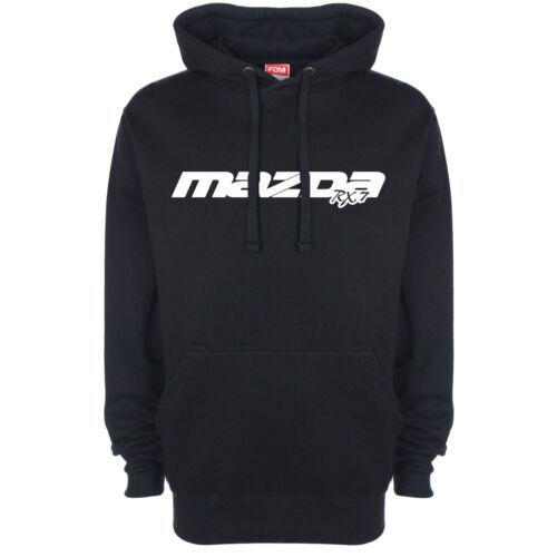 MAZDA RX7 Logo Hoody Sweat à capuche Haut à Capuche