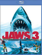 Jaws 3 [Blu-ray], New DVDs