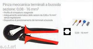 INTERCABLE-PMT16E-Pinza-meccanica-terminali-a-bussola-sezione-0-08-16-mm2