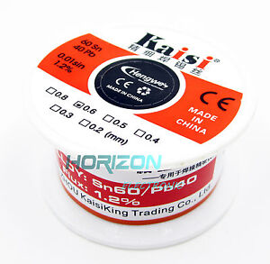 0-6mm-50G-60-40-Rosin-Core-Flux-1-2-Tin-Lead-Roll-Soldering-Solder-Wire