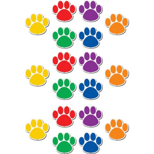 Learning Theme//subject Teacher Created Resources Paw Prints Magnetic Accents