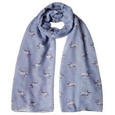 ENGLISH BULL TERRIER DOG PRINT LADIES SCARF NEW RANGE 3 COLOUR CHOICES UK SELLER