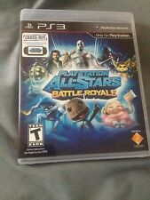 PlayStation All-Stars Battle Royale  PS3 NTSC U/C Multiplayer Online Play