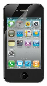 Belkin-iPhone-4S-4-IRIS-4-X-Protector-de-Pantalla-Antirreflejo-Overlay-Protector-Tru-Claro