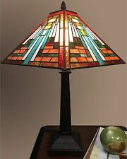 Table Lamps For Living Room Bedroom 12 Inch Tiffany Style Vintage Stained Glass