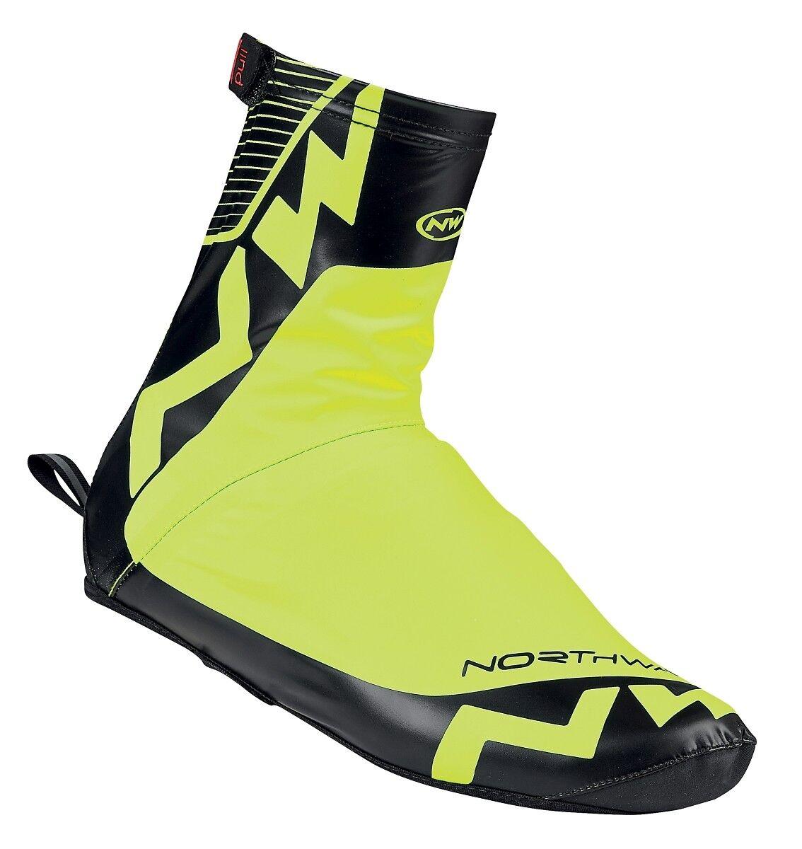 Northwave Acqua Regen Fahrrad Überschuhe yellow black 2019