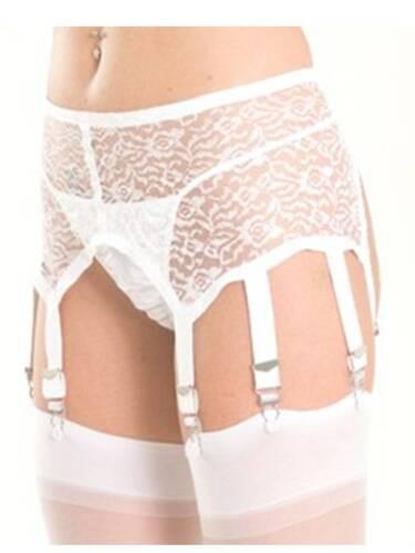 Lace Suspender Belt w 8 Suspenders Shame On You Lingerie S,M,L,XL,1XL,2XL,3XL