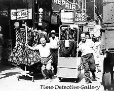Men in the Garment District, New York City - 1955 - Historic Photo Print