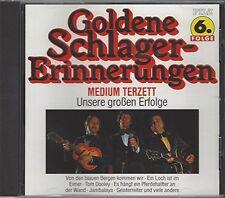 Medium-Terzett Unsere großen Erfolge-Goldene Schlagererinnerungen 6 (18 t.. [CD]