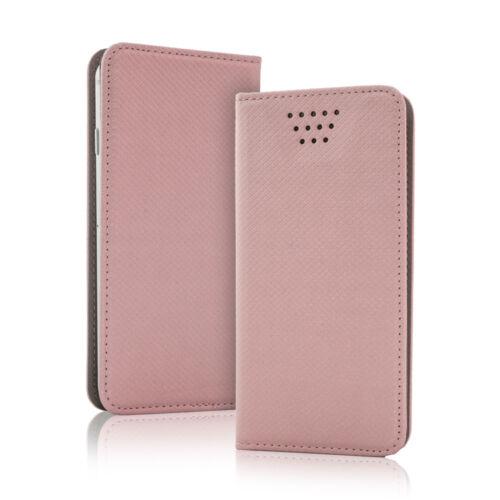 funda funda protectora estuche Smart imán bolso Rose oro para Sony Xperia m5 dual