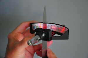 Laser Knife Edge Reader- be a better sharpener knowing your angles