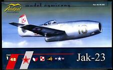 Ardpol Models 1/48 YAKOVLEV Yak-23 Russian Jet Fighter