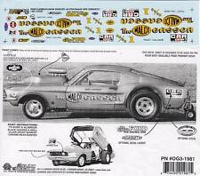 Ohio George MALCO Gasser Mustang NHRA 1981