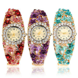 JN-Women-Flower-Butterfly-Dress-Bangle-Numbers-Dial-Rhinestone-Wrist-Watch-Ho
