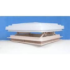 Roof Vent Sky Light Caravan Motorhome 400 x 400mm Flynet Beige MPK Rooflight