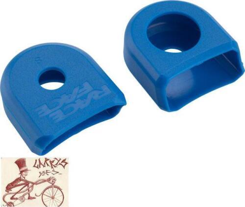 - environ 5.08 cm RACE FACE S Bleu Vélo Crank Boots 2 in un pack