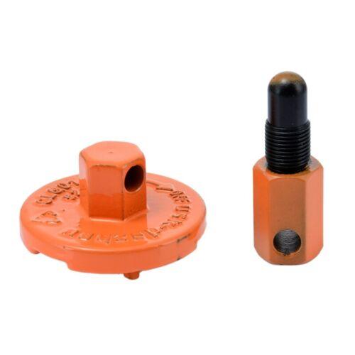 Teile Der Ketten Sägen Kupplung Demontage Kolben Stopper Werkzeug FürB4H3