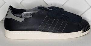 11 9 Zapatillas 9 Decon Bz0110 80s Blanco Adidas 5 Superstar Sneakers 5 Negro Piel qpZq7v