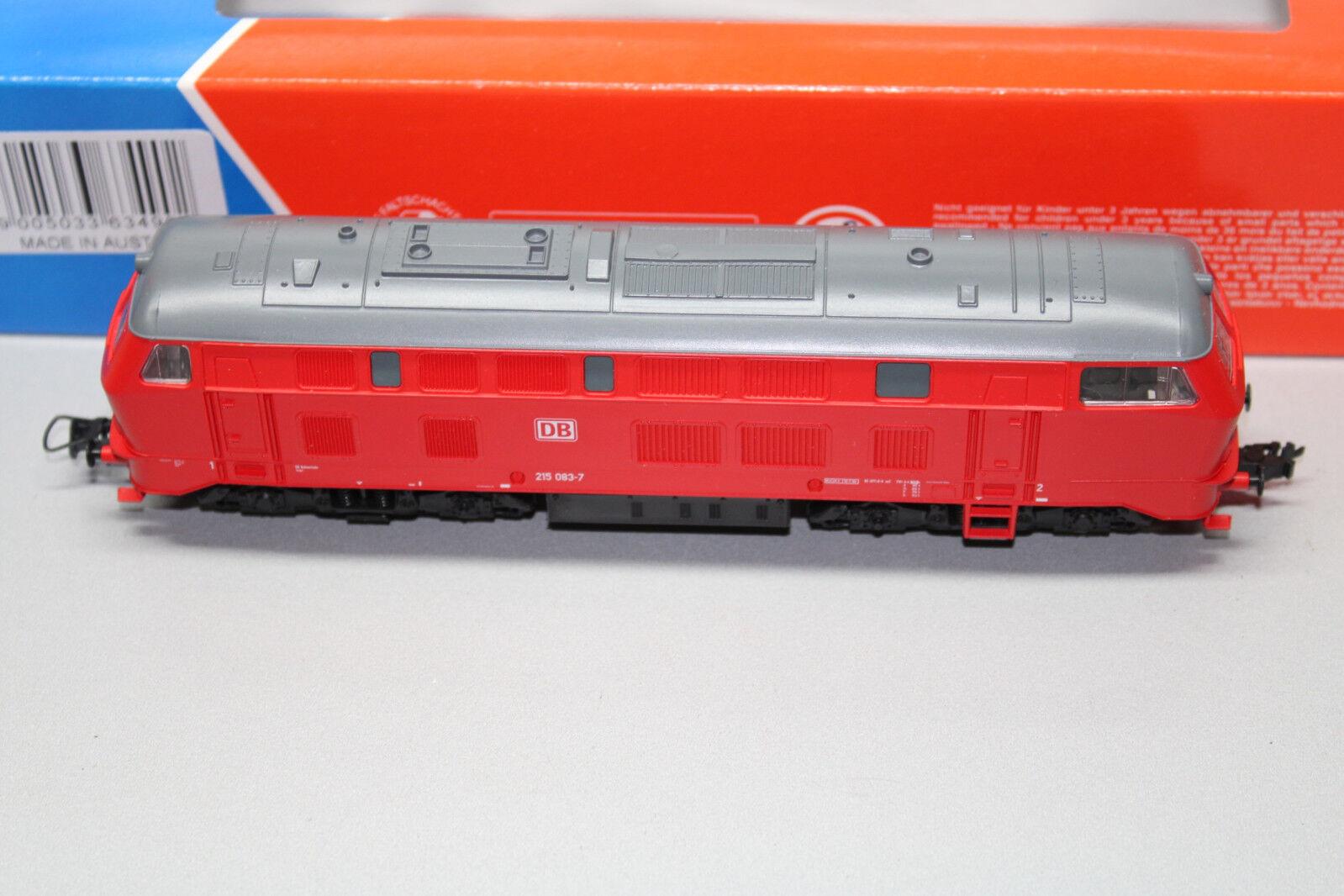 tienda en linea Roco 63490 diesellok serie 215 126-4 DB DB DB AG DSS Spur h0 OVP  vendiendo bien en todo el mundo