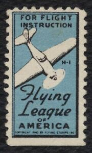 Vuelo Liga Of America, 1940 , sin Usar Nh Og Cualquier 5=
