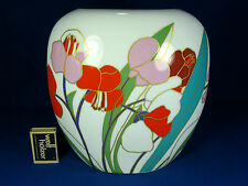 "Well shaped Wolf Bauer "" springflower "" design Rosenthal Porzellan vase 2666"
