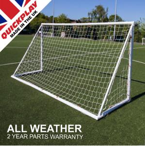 QuickJugar Q-Fold-al aire libre plegable objetivo de fútbol Post - 12 X 6ft (366 X 183cm)
