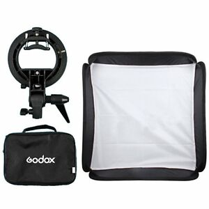 Godox-60x60cm-Softbox-S-Type-Bracket-Bowens-Holder-Bag-Kit-for-Camera-Flash