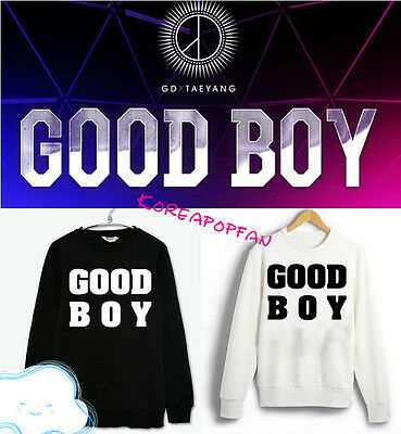 Bigbang gd G-dragon Taeyang jumper Good Boy Sweater sweatshirts Kpop goods New