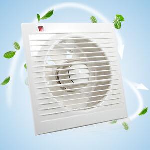 4 6 extractor fan extracteur mural ventilateur pour for Extracteur pour salle de bain