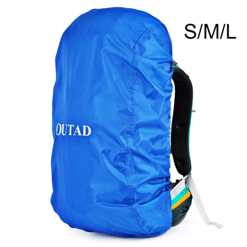 Details about  /Waterproof Backpack Rain Cover Outdoor Night Safety Raincover Bag Multi-color uW