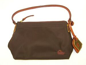 Dooney-amp-Bourke-Brown-Hobo-Bag-Purse-Amazing-Pre-owned-Condition