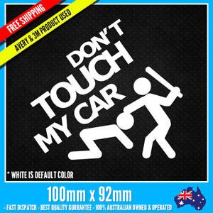 Don-039-t-touch-my-car-sticker-vinyl-decal-JDM-Hellafluch-Sport-racing-notebook