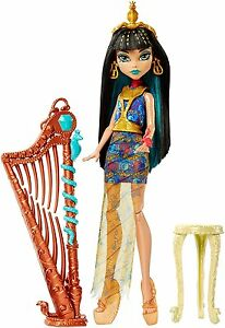 Monster High Music Class Cleo de Nile with Harp Doll  BRAND NEW