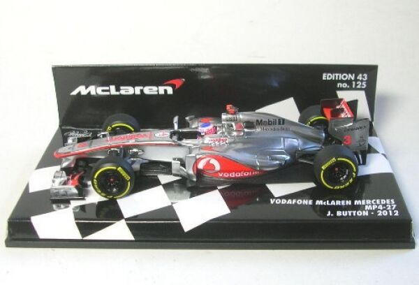 Mclaren Mercedes MP4-27 No.3 J.Button Formula 1 2012