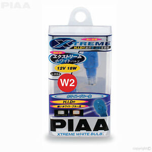 H-224E-PIAA-XTREME-WHITE-W16W-T16-921-W2-1x9-5d-Sans-Capuchon-18-W-ampoules-Type-W2